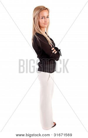 Business Woman Posing