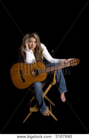 Musician Resting