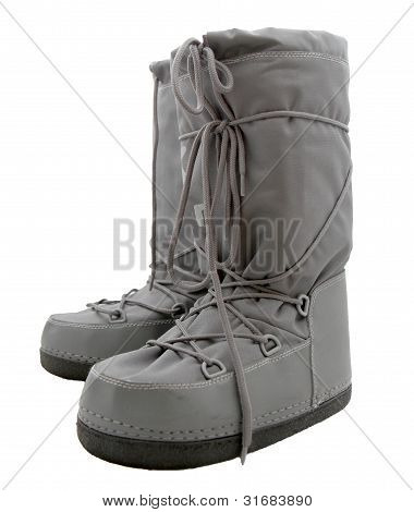 Grey Moonboots