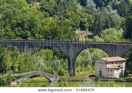 Small Church In Garfagnana (tuscany)