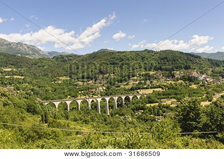 Landscape In Garfagnana (tuscany)