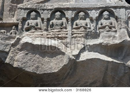 Ancient Religious Rock Carvings