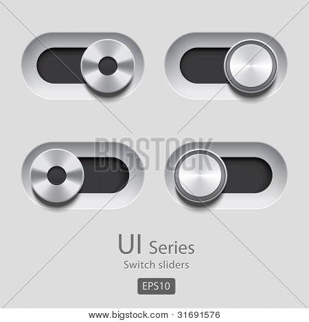 Deslizadores de interfaz de usuario