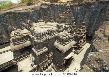 Ancient Hindu Rock Temple