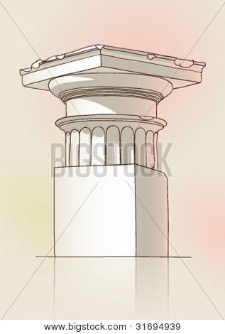 Classical Doric capital