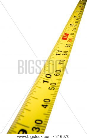 Tape Measure To Horizon