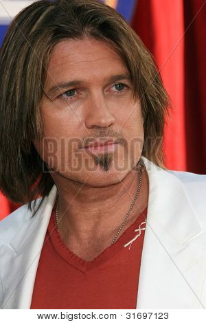 LOS ANGELES, CA - JUNE 22: Billy Ray Cyrus at the world premiere of 'Ratatouille' at the Kodak Theater in on June 22, 2007 in Los Angeles, California