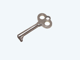 picture of skeleton key  - Photograph of a skeleton key edited with Photoshop - JPG