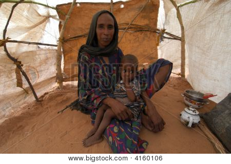 Mother In Darfur