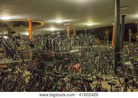 Bicycle Parking In The Netherlands