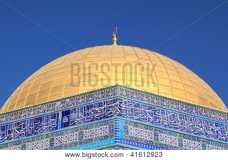 The Dome of the Rock , Al Aqsa, Jerusalem, Israel