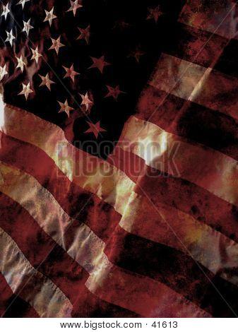 Distressed US Flag