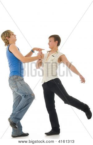 Tecktonik Dancers