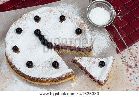 Blackcurrant Cake