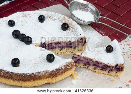 Blackcurrant Pie
