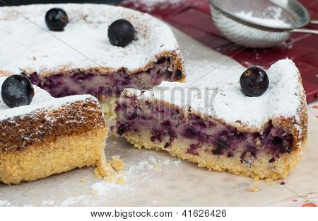 Tasty Blackcurrant Cake