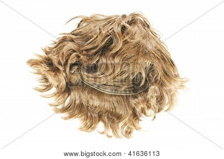 Wig On White