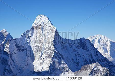Mount Ama Dablam, View From Island Peak Summit, Nepal