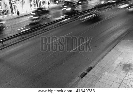 Cars City Night