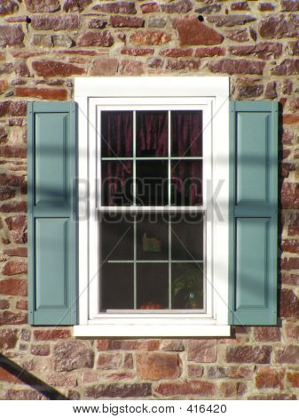 Window Of Farmhouse