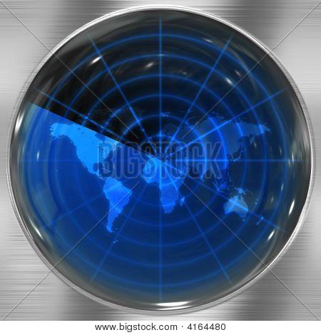 Blaue Welt radar