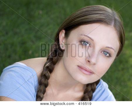 Braids Mädchen