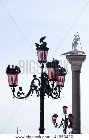 St. Theodore On Column, Venice