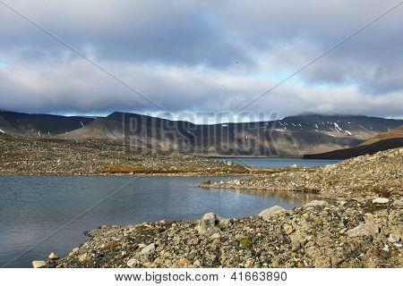 Gletschersee, Spitzbergen (Svalbard)