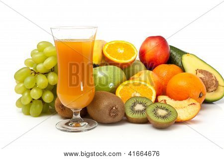 Fruits Juice With Vegetables
