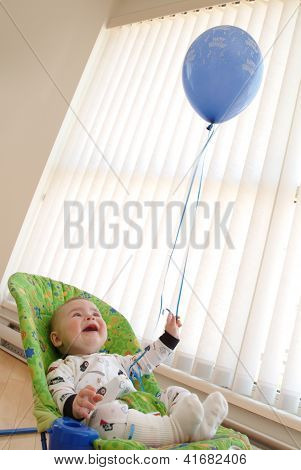 Baby With Balloon