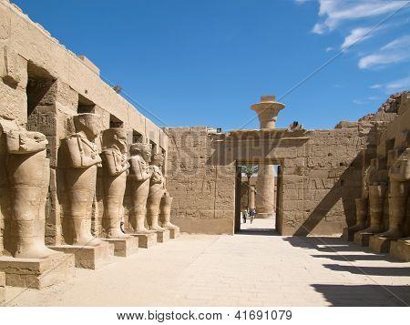 Carnac temple