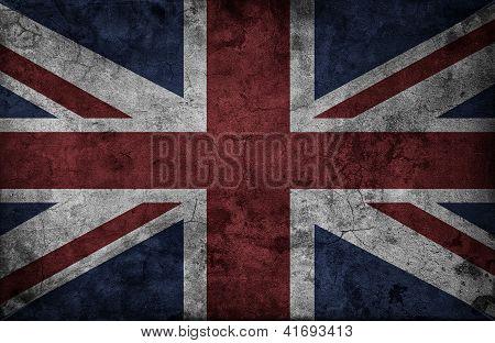 Grunge Uk National Flag