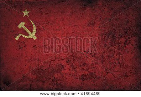 Grunge-UdSSR-flag