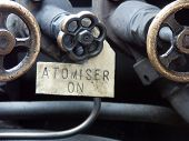 Atomiser On - Steam Railway Carriage Machinery poster