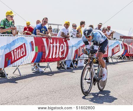 The Cyclist Gert Steegmans
