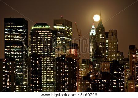 Moon Over Dark City