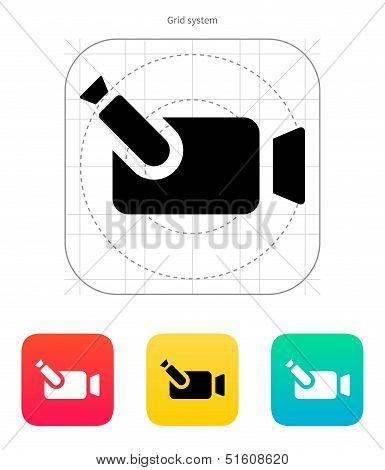 Portable camera icon.