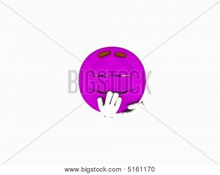 Purple Emoticon