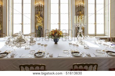 Dining room, Assemblee Nationale, Paris, France