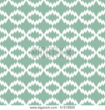 Retro Ikat tribal zigzag seamless pattern in indian style for web design or home decor