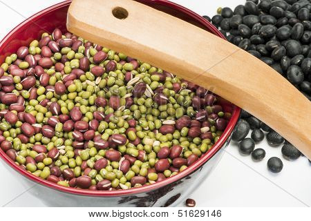 Mixed Beans In Bowl