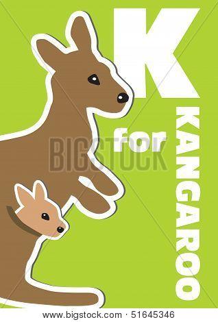 K For The Kangaroo, An Animal Alphabet For The Kids