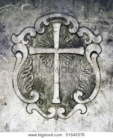 Grave Crucific Detail