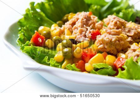 Tuna Salad With Mais