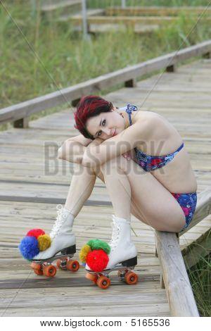Red Haired Skater