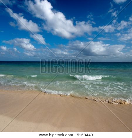 Beautiful Beach And Sea