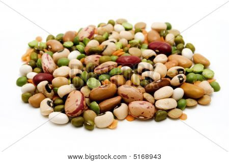 Dried Legumes And Cereals