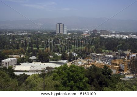Panorama On One Of The Studios In Hollywood