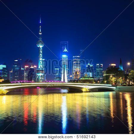 Charming Night In Shanghai