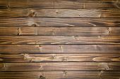top view of vintage wooden background